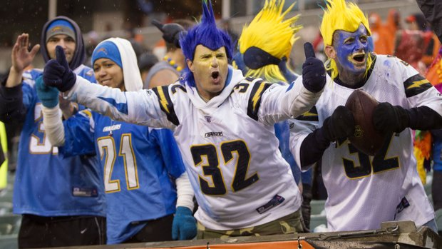 San Diego Chargers and Fans are Celebrating Its Biggest Win in NFL Playoffs