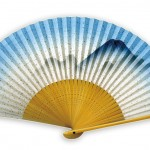 Hand_paper_fan_Japanese_gift_craft_excellent