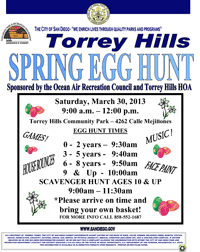 Torrey Hills Easter Egg Hunt