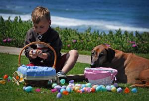 Del Mar Easter Egg Hunt