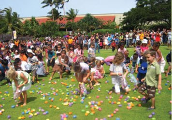 an enjoyable day of easter egg hunting fun Easter egg hunts are the perfect pace for your kids to wear their fun little rabbit and chick costumes dress up to make the day twice as special for the little ones as they pose for great photo opts that will build memories for a lifetime.