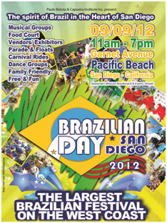 Brazilian Day San Diego 2012 in Pacific Beach September 9th 2012 – Sunday