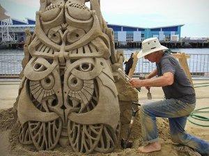 Sand-Sculpting