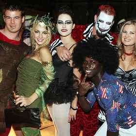 Halloween Party at Hotel Valley Ho