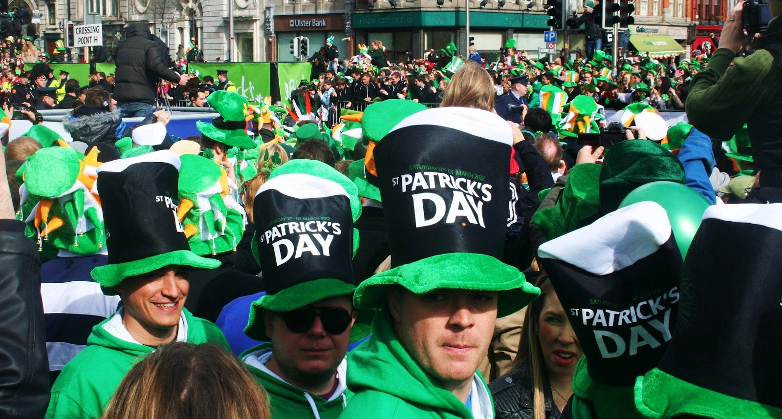 St. Patrick's Day 2015 Parade & Festival in San Diego