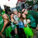 St. Patrick's Day 2016 shamROCK Gaslamp Block Party in San Diego