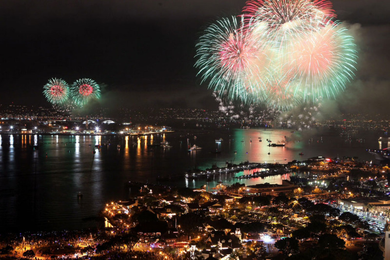 4th of July 2016 Independence Day Fireworks and Celebrations in San Diego