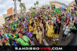 9th Annual Brazilian Day San Diego 2016 Street Fair and Parade at Belmont Park