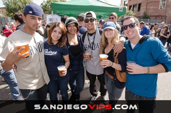 San Diego Padres Opening Day Block Party 2015 at East Village