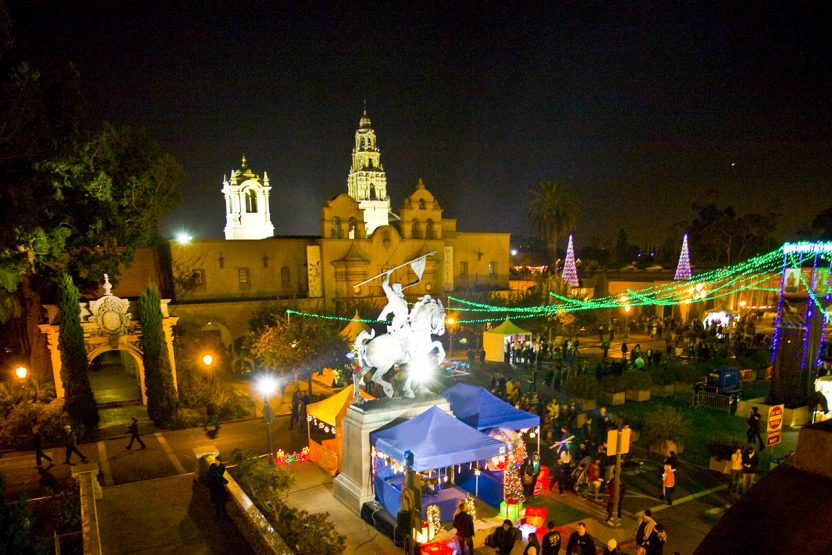 Balboa Park December Nights 2017 Holidays Fun & Festivities in San Diego